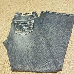 Women's Rock&Roll Cowgirl jeans. 33X34